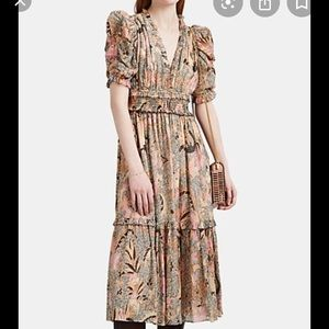 NWOT Ulla Johnson by BarneysClaudette floral dress